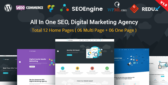 SEO Digital Marketing WordPress Theme