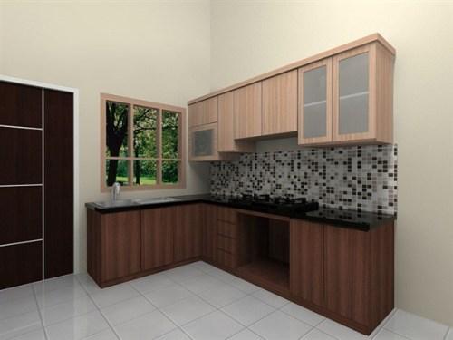 cara membuat kitchen set hpl