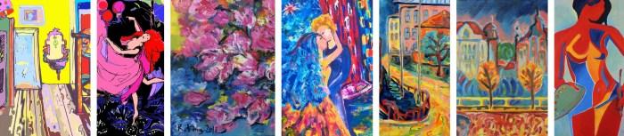 Paintings by Radka Zimova King