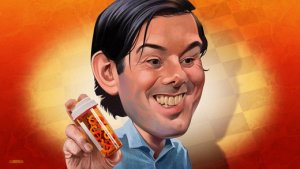 I didn't draw this, Martin Shkreli