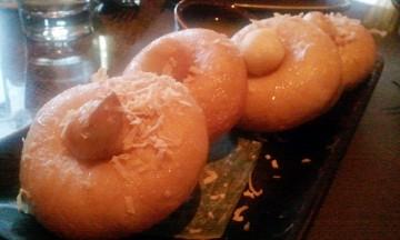 Warm Coconut Doughnut