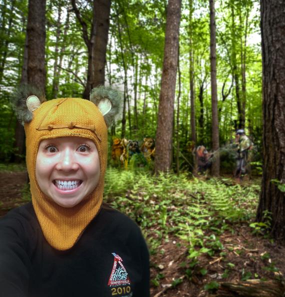 Ewoks spotted!