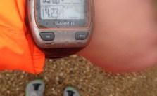 Sunny 4.5mi trail run yesterday, soggy 14mi on road today. 18 weekend miles done! #altra #zerodrop #lamarathon #training