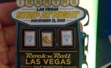 No triple diamonds. I can't win at slots anywhere in Vegas! lol #RnRLV #stripatnight #sweetmedal [instagram]