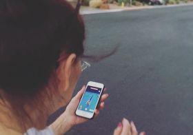 Evening walk with my mum, aka hunting for Pokémon [instagram]