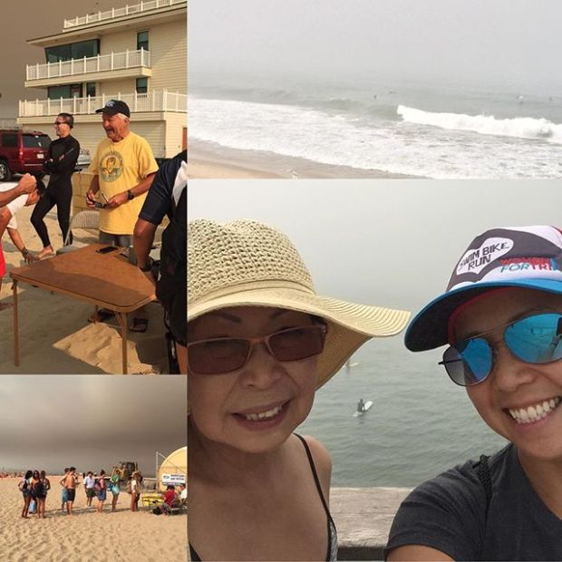 Checkout swim (for #Pier2Pier race in August) complete. I passed! Lol #hermosabeach #swimming #nuunlife