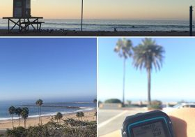 Wonderful open water swim this morning in Corona Del Mar. #triathlontraining #nuunlife [instagram]
