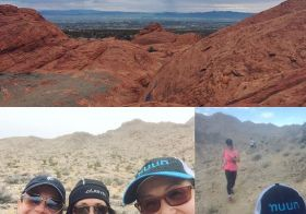 22 trail miles is better with friends! #nuunlife #ultratraining #taur #AR50mile #beyondlasvegas [instagram]