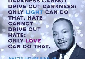 This. Today and everyday. #mlkjr #light #love #forgiveness #peace [instagram]