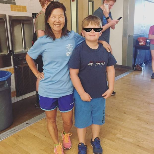 Everyday I'm inspired by the drive & strength of the teens at @wtechcrossfit esp. this young dude! Beth said she wants to be as strong as him someday. #crossfit #crossfitteens #thuglife