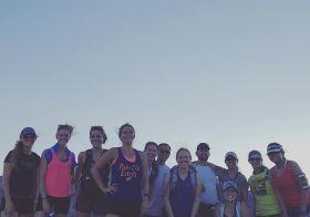 Found an OG Monday Night Trail run group photo! #fbf [instagram]