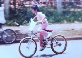 ZOMG my HAIR.  Here ya go, @thisdirtlife my #tbt to your #waybackwednesday challenge 🤣 I'm riding without a helmet, too. Yep, that was my childhood. Must be why I ended up being mental 🤪 #womenwhoride #whatsworthit [instagram]