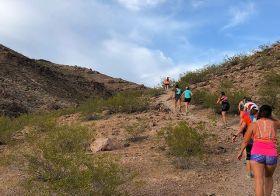 A special Monday Night trail run hosted by our Henderson friends! We all drove across town to enjoy the caves trail and each others' company afterwards… ok, we took booty short photos lol. [instagram]