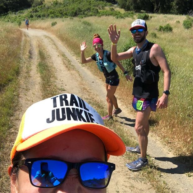 A week ago today, I was running the lovely trails of the Almaden Quicksilver County Park, seeing (and made new) friends along the way, whilst responsibly pooping off trail  Or essentially, that's ultrarunning. Lol. #trailjunkie