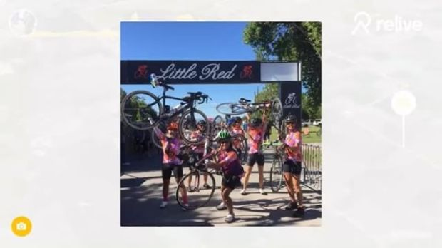 100 miles of great fun in Utah & Idaho with some kickarse ladies @vaunette @annealba @l3330c My first ever Century 🚴🏽♀️