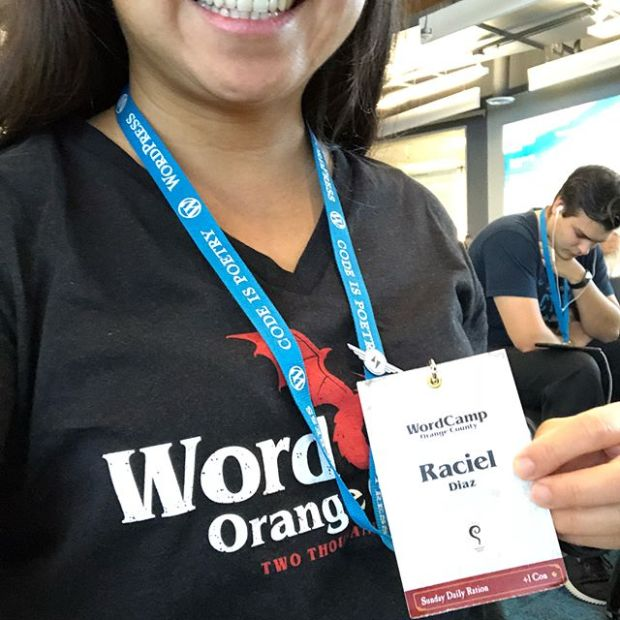WordCamp OC, day 2 yesterday was a blast. I wish it didn't end but we all have to go back and apply what we've picked up! #wcoc