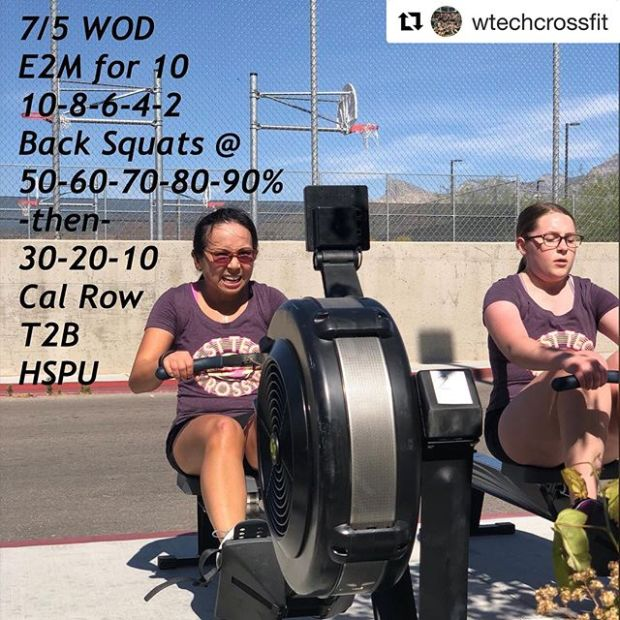 My life is complete. I became a @wtechcrossfit Workout Cover lol  Also, welcome to the #bum show feat. my arse, @rebeccarunstrails @kiplyn70  #suncitycrossfit