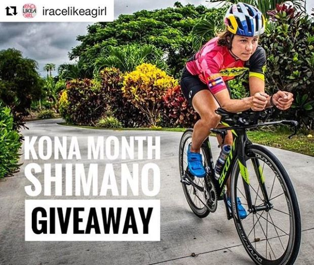 One of my fav cycling memories is riding my clipless pedals wearing flip flops! I forgot to bring my shoes and after an open water swim, I didn't wanna miss the chance to train. Thankfully, my coach had duct tape and taped my flip flops to my feet and off I went! 🤣#Repost @iracelikeagirl with @get_repost・・・KONA GIVEAWAY! Want to win a brand new Shimano wheelset? What about a free membership to IRACELIKAGIRL? We're teaming up with @rideshimano to celebrate the #IMWC this month and are giving away ONE OF EACH! ***Here's how to win:1. Like this photo and follow @iracelikeagirl and @rideshimano.2. Mention 3 friends in the comments below.3. Tell us about your favorite cycling moment in your own post. (i.e. Your first time riding clipless? Finishing your first century?) Be sure to tag @iracelikeagirl and @rideshimano in your post.***Challenge will close October 13th. ***Good luck! #iracelikeagirl #rideshimano *2019 memberships are open for the team. Limited to the first 200 members and closing November! Details in bio.