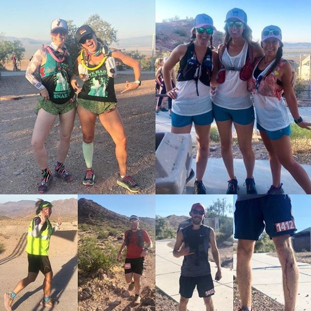 Saturday was a morning of volunteering where I saw friends rock the annual @desertdashtrailraces Bootleg Beatdown! I also introduced my visiting sisypoo @runtricpa to Boulder City singletrack, told her to watch out for sneks/nope ropes, and after helping clean up at the race, finished the morning with some #ows drills at Lake Mead.