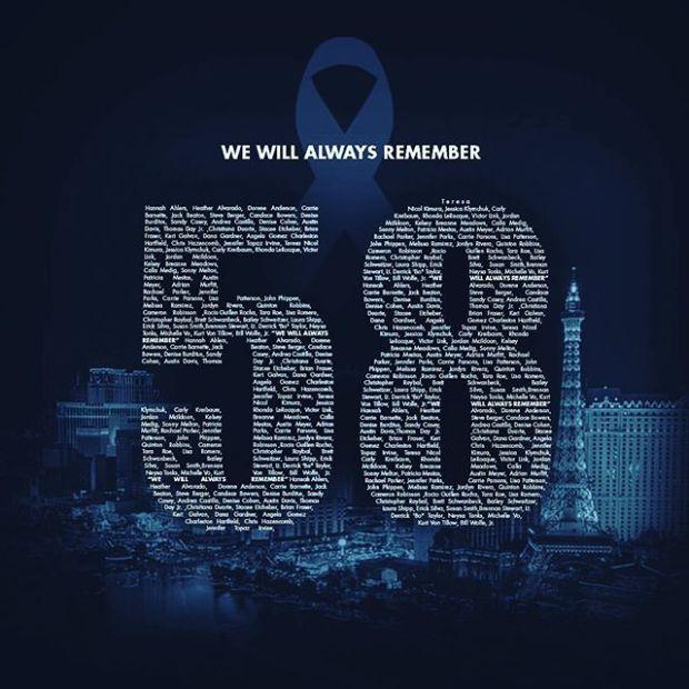 On 1 October, in memoriam. #vegasstronger #vegasstrong