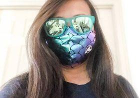 Mask: @keapeakSunnies: @goodrQuadruple-chin: Oreos#Quarantine2020 #covid19 #quarantineselfie [instagram]