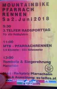 Telfer Radsporttag und Pfarrach Alm Rennen