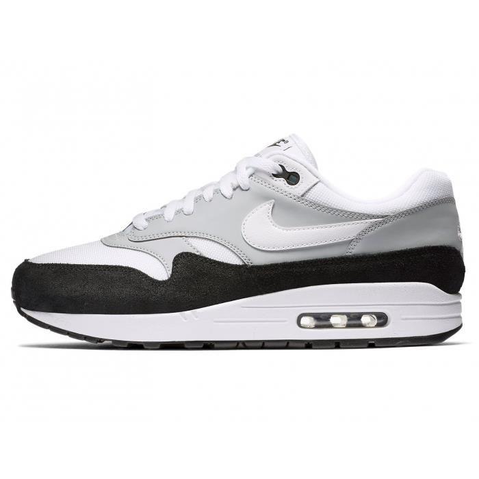 air max 1 gris et noir et blanche pour homme air max 1 homme noir blanc