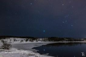 Winterhimmel auf Island