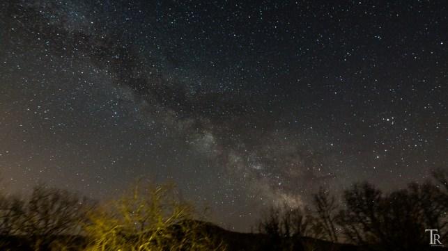 Milchstraße in der Toskana