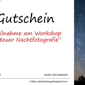 Gutscheinkarte – Workshop