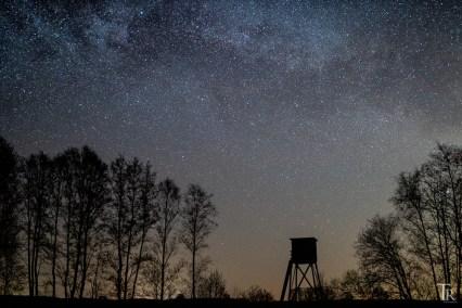 Aufgehende Milchstraße