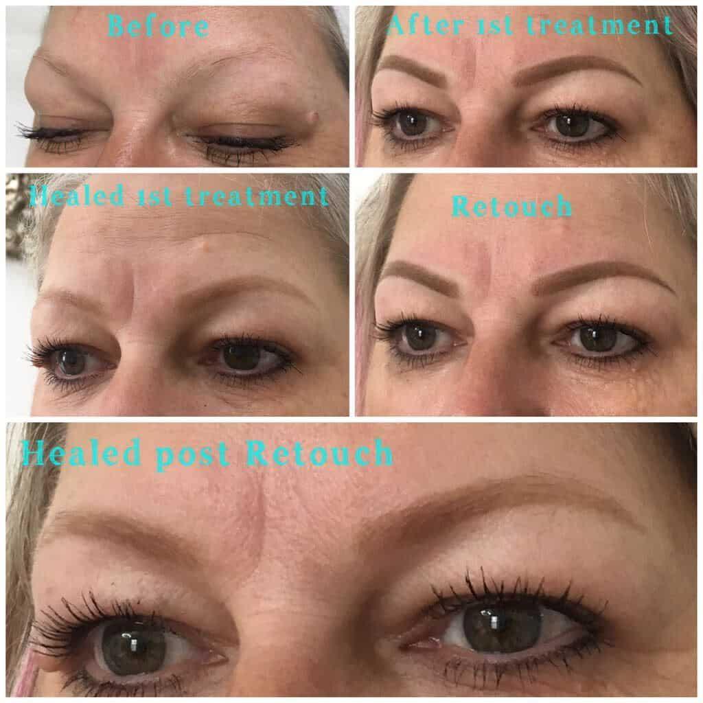 Ombre Brows A New Way To Have Semi Permanent Makeup Rae Denman