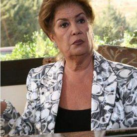 الممثلة منى واصف