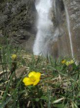Wasserfall Vorauen am Klöntalersee