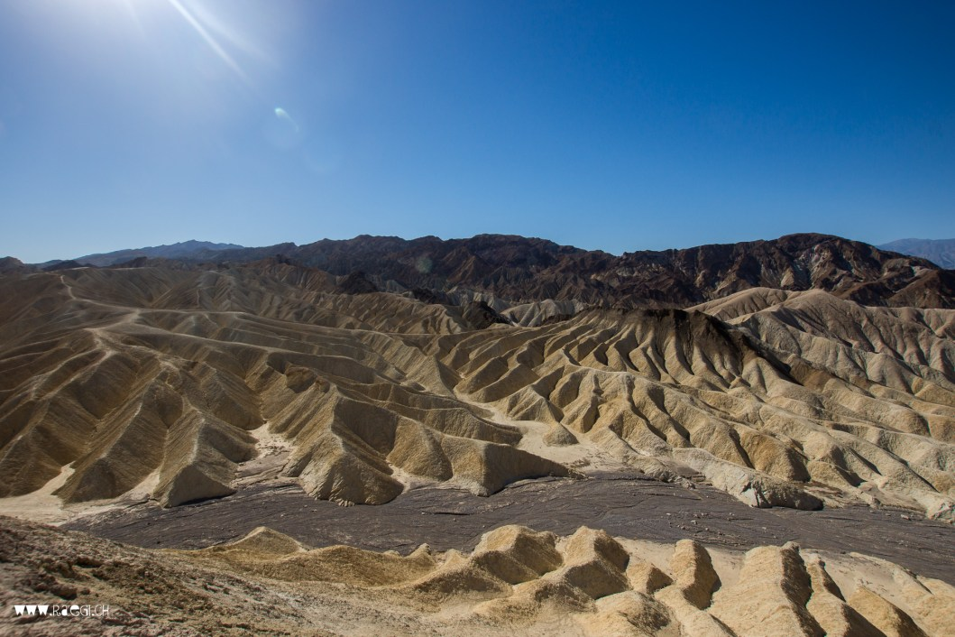 Zabriskie Point Death Valley
