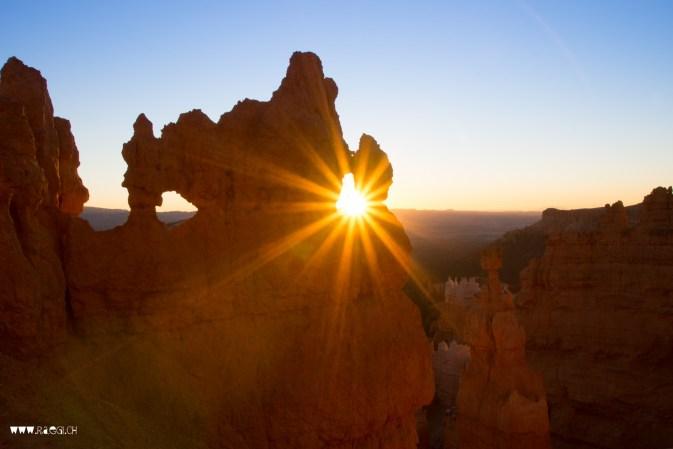 Sunset Bryce Canyon