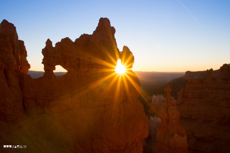 Sunset Bryce Canyon