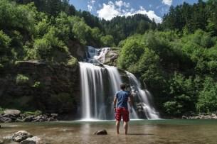 Wasserfall in Faido