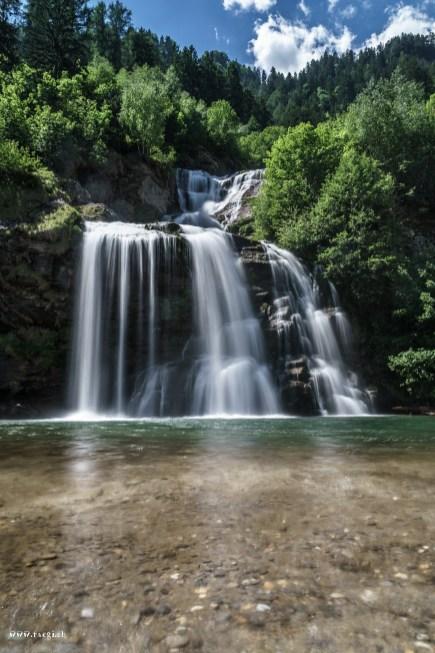 Wasserfall Piumogna