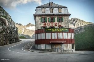 Hotel Belvédère an der Furkapassstrasse