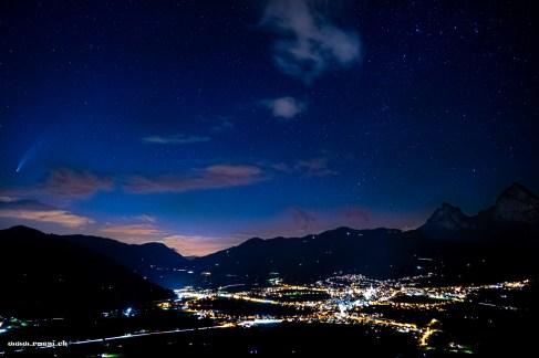 Neowise over Schwyz