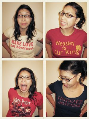 Harry Potter Excitment and Two T-Shirt Tutorials