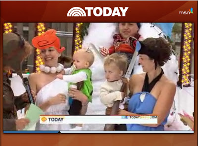 flinstones costumes featured on today show