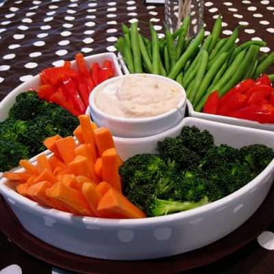 Recipe: White Bean Dip and Veggies