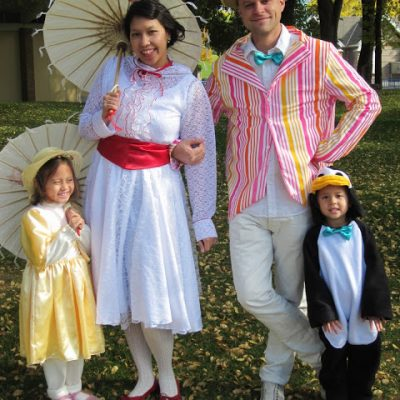 Mary Poppins Costumes Halloween 2011