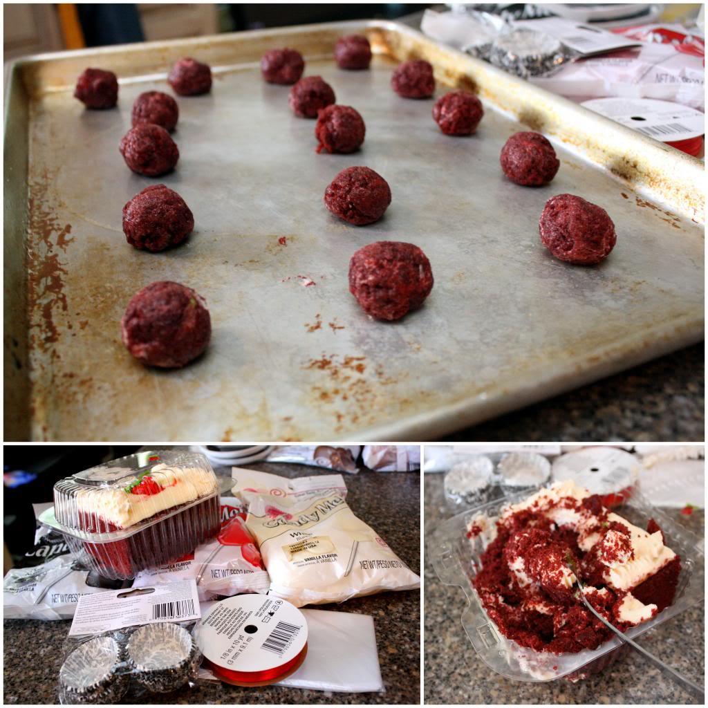 how to make easy cake balls