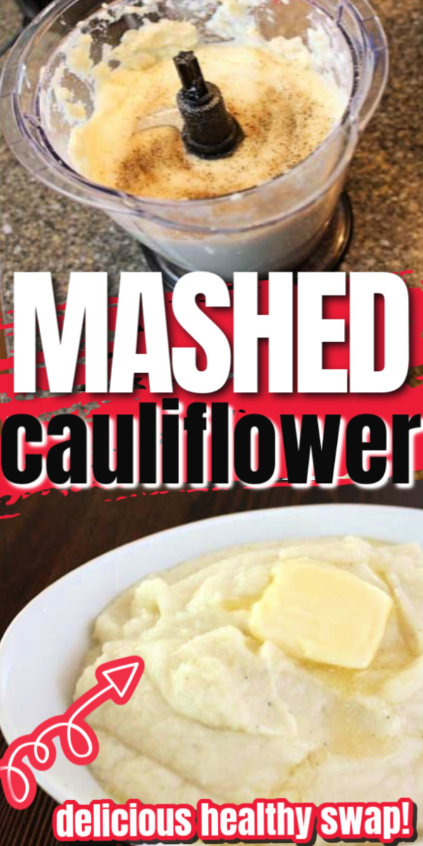 Easy and delicious Mashed Cauliflower recipe. So good you won't even miss the potatoes. We love this for family dinners.