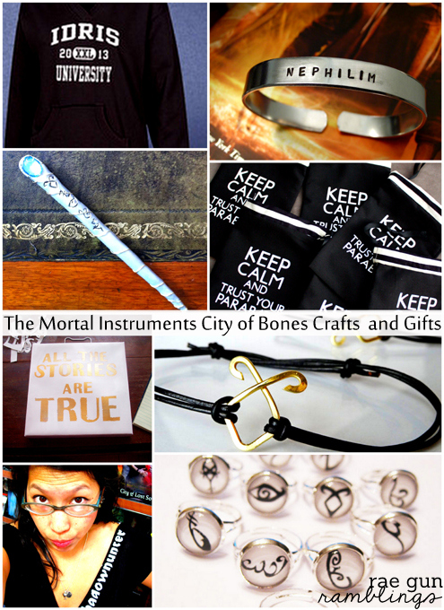 The Mortal Instruments City of Bones Crafts and Gifts - Rae Gun Ramblings