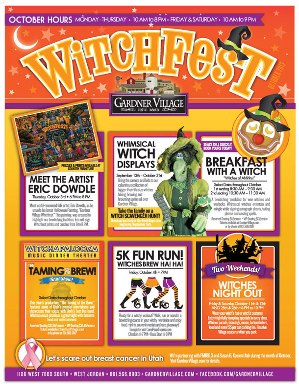 Locals: Gardner Village Witch Fest and Bloggers Night Out