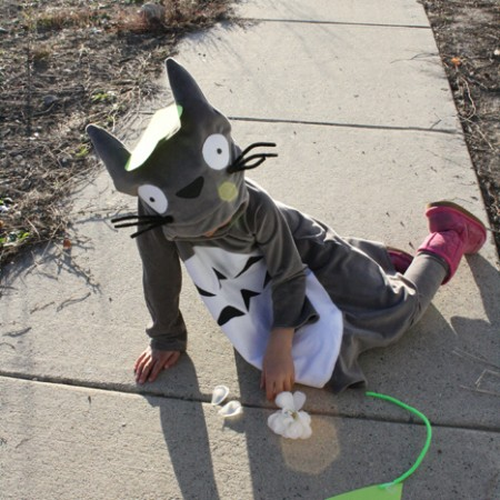 My Neighbor Totoro child's costume - Rae Gun Rambling